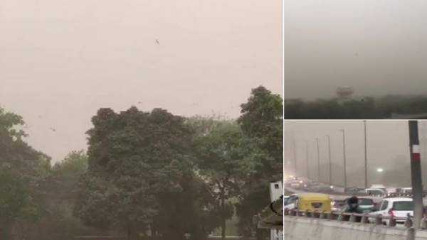 Weather: Dust storm hits delhi-ncr, intense rains ahead, Operations temporarily halted at IGI airport