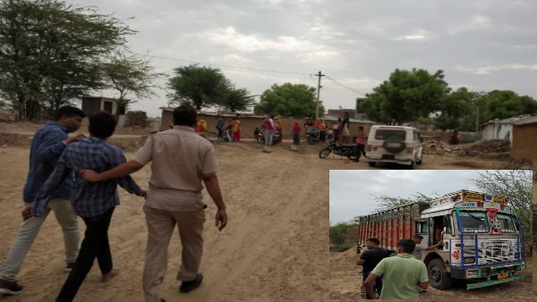 Villager Attacked on Niwai Police in Tonk Rajasthan