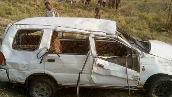 Many people died in road accident