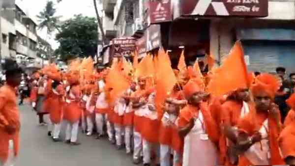 VHP activists including girls booked for arms firing and using swords