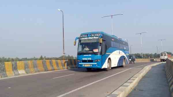 Volvo buses will not run between pryagraj and lucknow