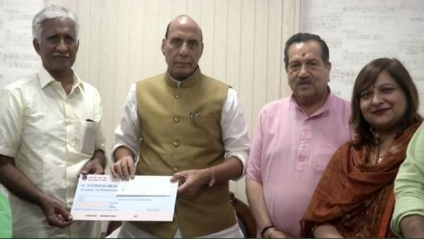 former iaf airman donates more than 1 crore to defence ministry