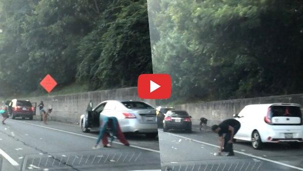 <strong>इसे भी पढ़ें:- VIDEO: हाईवे पर चलते ट्रक से अचानक होने लगी नोटों की बारिश, गाड़ी खड़ी कर लूटने में जुट गए लोग </strong>