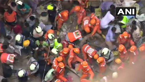 mumbai dongri building collapse Rescue operation called off Death toll is 14 9 injured
