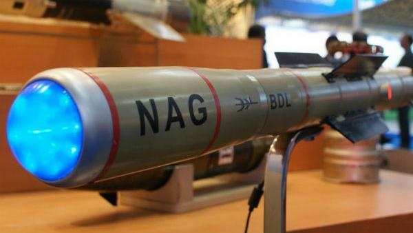 Nag Missile Successful tested in Thar Rajasthan