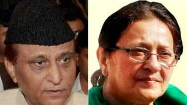 Azam Khans wife Tazeen Fatma says land grabbing is a political conspiracy hatched by bjp govt