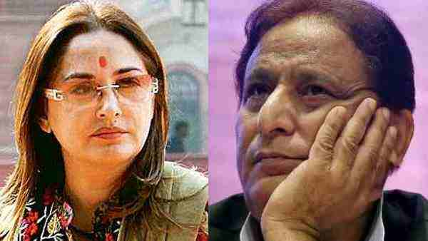 high court notices to sp mp Azam Khan and bjp mp sanghamitra maurya