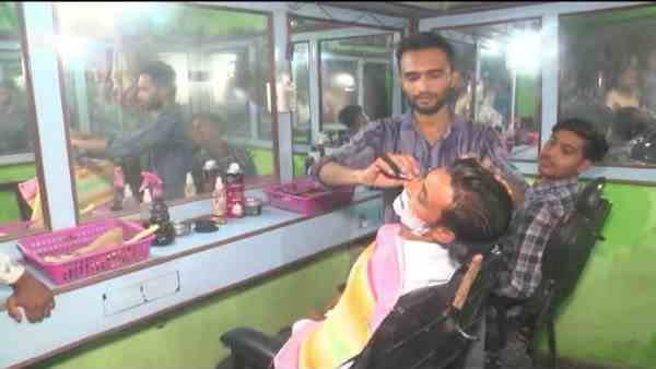 muslim barbers ready to cut hairs for lower caste people