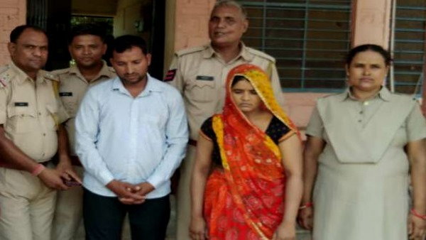 Wife Arrested with Lover in Auto driver murder case of Bharatpur