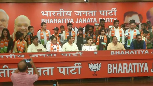 Thirty youth from various fields joined Bharatiya Janata Party in delhi