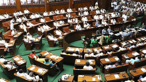 Karnataka Assembly trust vote BJP to hold overnight dharna inside Assembly No floor test today