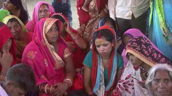 bride mother died on the spot due to electric shock