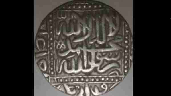 children found ancient coins of the mughal sultanate period