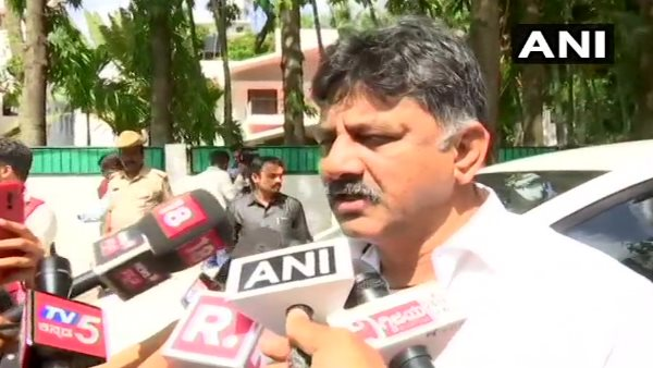 DK Shivakumar claims Independent mla Nagesh hijacked by bs Yeddyurappa
