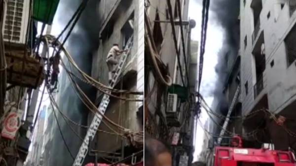 Delhi: Three people dead after fire broke out in a rubber factory in Jhilmil area