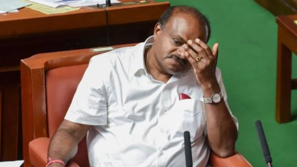 hd kumaraswamy rule in karnataka, First term was 20 months, 2nd ended with 14 months