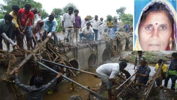 Husband wife Flowed in Drain at Bhilkhera ratlam