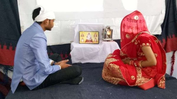 marriage completed in only 17 minutes at Kanwat Sikar