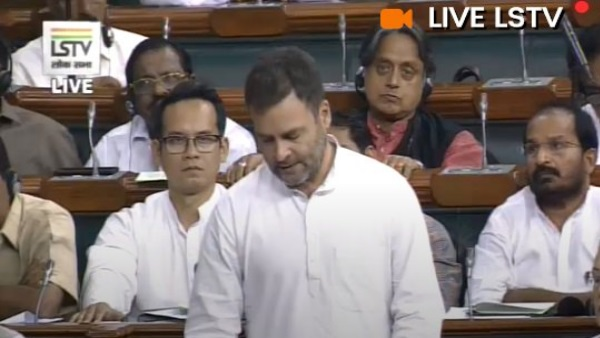 Rahul Gandhi raised the issue of farmer and their debt in lok sabha