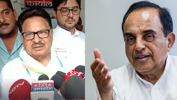 congress mp pl punia filled FIR against subramanian swamy in barabanki