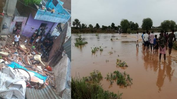 10 Peoples Died due to Heavy Rain In Rajasthan