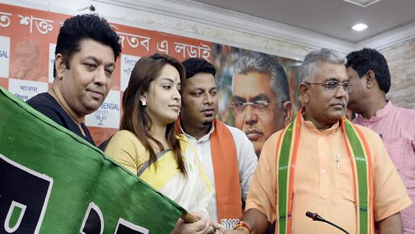 after many other actors now Bengali actress Rimjhim Mitra joins bjp