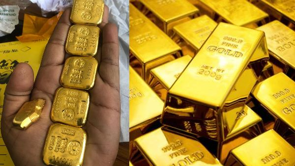 Two Arrested at Jaipur Sanganer Airport For Gold smuggling