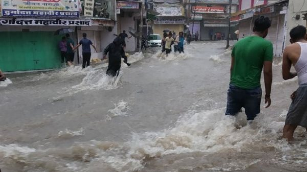 Heavy rain can occur here on Friday