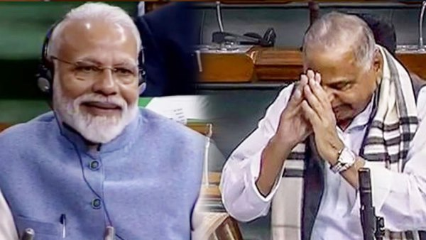 Mulayam voted in favor of the government