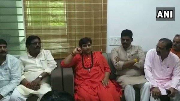 What did Pragya Thakur say?