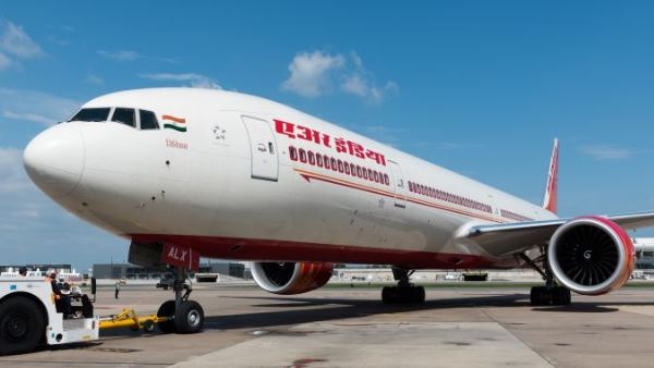 air india pilot aborts flight landing because of dogs on runway