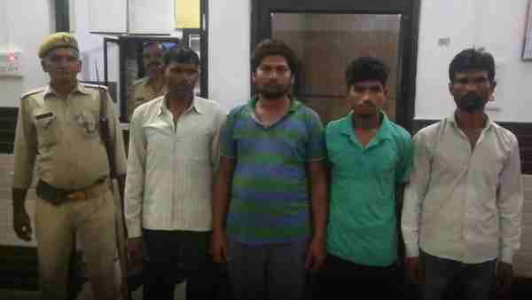 Bijnor police arrested 4 accused of mob lynching
