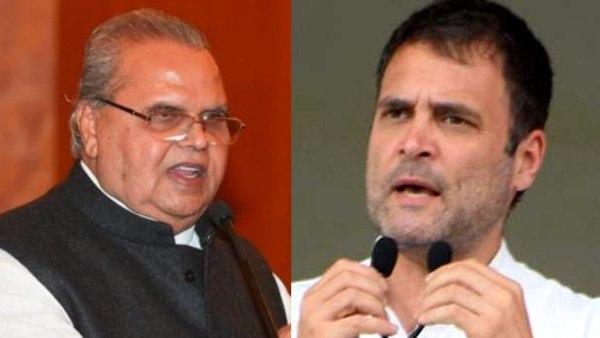 <strong>राहुल गांधी ने स्वीकार किया सत्यपाल मलिक का न्योता,बोले- कब आ सकता हूं कश्मीर?</strong>