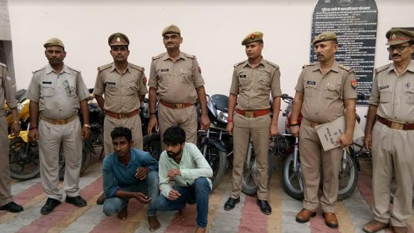 chandauli police busted vehicle thieves gang