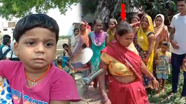 watch video: a woman brutally beaten in azamgarh due to child theft rumors