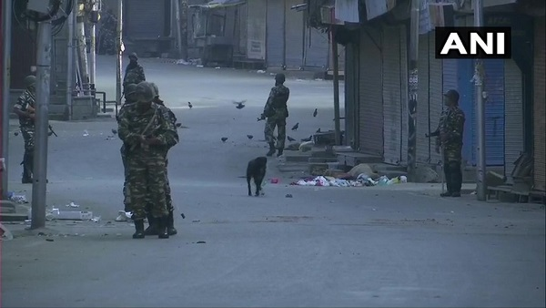Deployment of additional security forces in Jammu and Kashmir