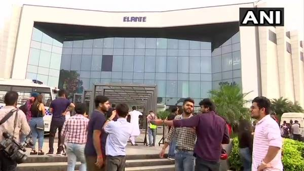 Elante Mall Chandigarh evacuated after threat of Bomb, police say no explosive found
