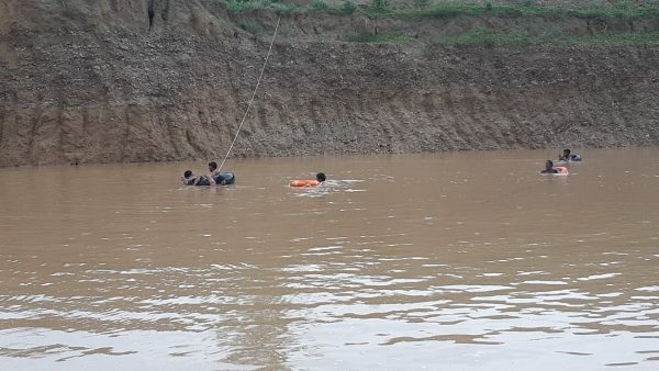 Four brother of gopalpura churu drowned and funeral same time