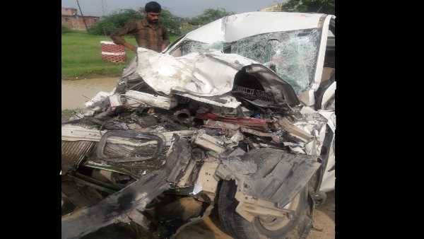 father, mother and his son died in an accident on highway