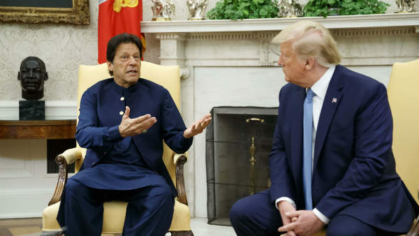Imran Khan calls up Donald Trump to discuss Jammu and kashmir 370 abrogation 20 mins phone call on the day of UNSC meet.