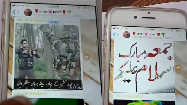 Pakistani posting obscence video and photos of PM Modi in lover piont whatsapp group