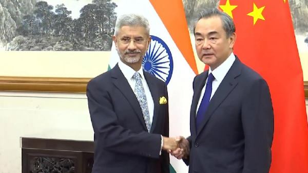 External Affairs Minister S Jaishankar meeting with Foreign Affairs Minister of China in Beijing