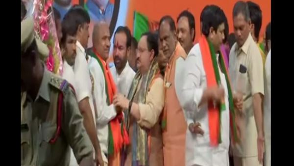 Telangana 60 TDP Leaders Several Party Workers Join BJP