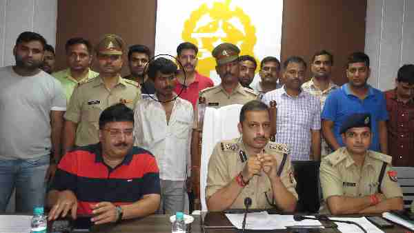 Mathura police arrested murder accused Yogesh