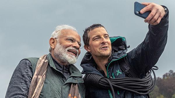<strong> Man vs Wild:PM मोदी ने बेयर ग्रिल्स को बताया- 18 साल में यह मेरा पहला वेकेशन है</strong>