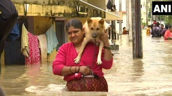 <strong> देश के कई राज्यों में बाढ़ का कहर, केरल में 42 की मौत </strong>