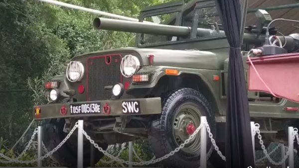 Indian Pakistan war hero RCL Jeep can see in mayo college ajmer