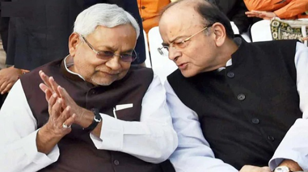 Former FM Arun Jaitleys statue to be installed in the bihar,announces cm nitish kumar