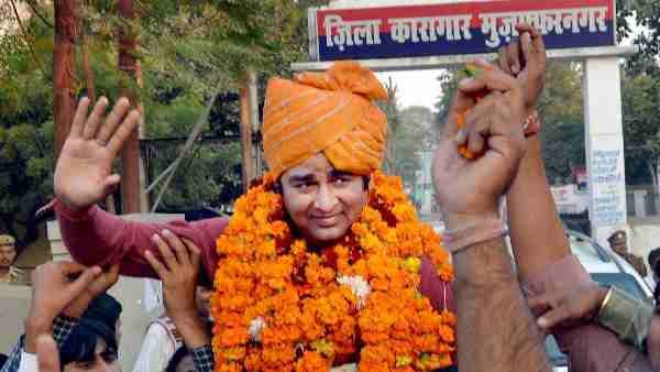 Yogi government will withdraw cases filed on bjp mla Sangeet Som