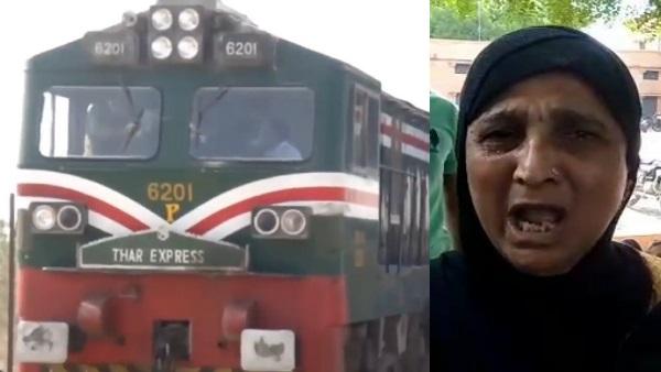 <strong>VIDEO : पाकिस्तान की 'नौटंकी' के बाद थार एक्सप्रेस ने पार किया बॉर्डर, 228 यात्रियों को लेकर लौटेगी भारत </strong>